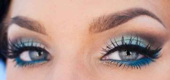 azul ojos