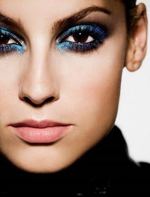 maquillajes AZULES para ojos