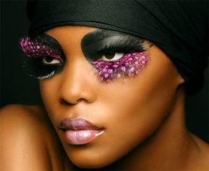 maquillajefantasiaadolescplumas