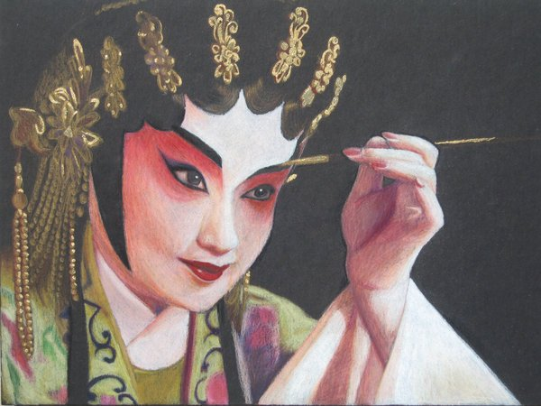 maquillaje artistico antiguedad