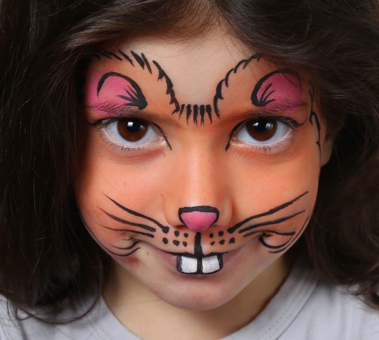 maquillaje fantasia ardilla