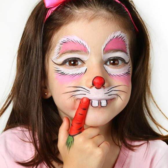 maquillaje fantasia conejo
