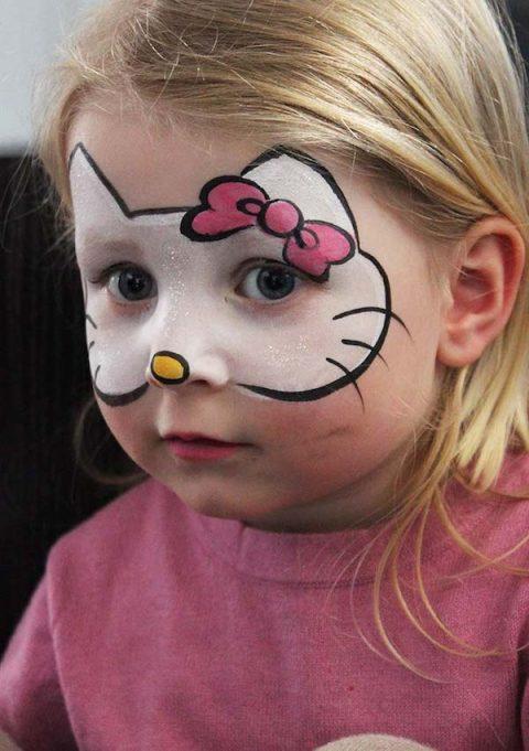maquillaje fantasia kitty