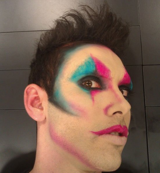 maquillaje carnaval hombre