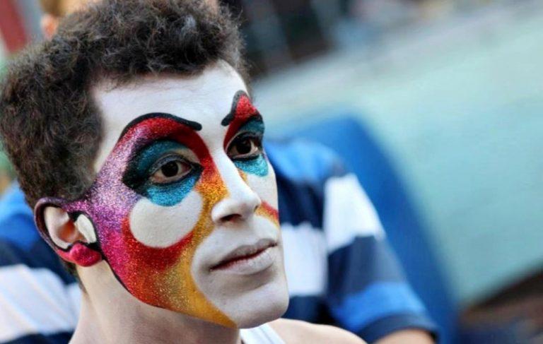 maquillaje carnaval hombre