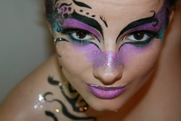 maquillaje carnaval mujer
