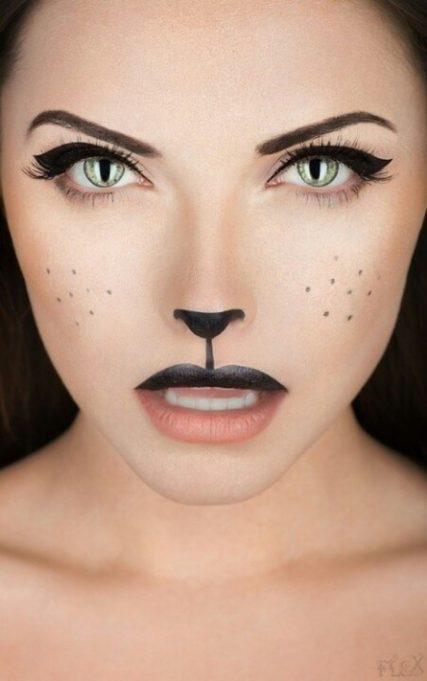Maquillaje de GATO 8 diseos muy bonitos Mis Maquillajes