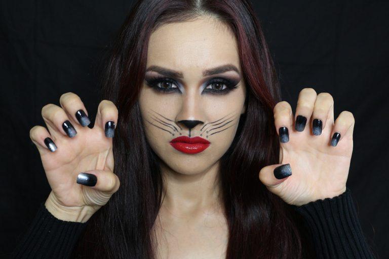 Maquillaje de GATO para adolescente