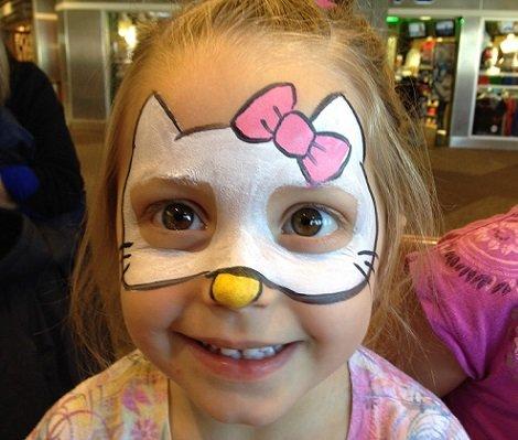 Maquillaje de GATO para niña