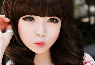 piel para maquillaje kawaii