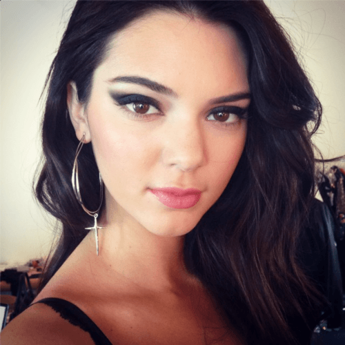 kendall jenner make up glam rock