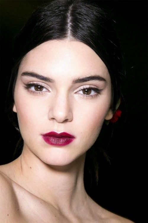 kendall jenner make up oriental