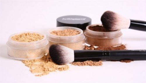 composicion del maquillaje mineral