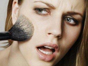 maquillaje de poca duracion