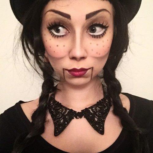 maquillaje muñeca para mujer