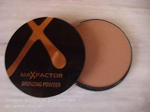Polvo bronceador Max Factor