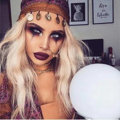Maquillaje pirata labios