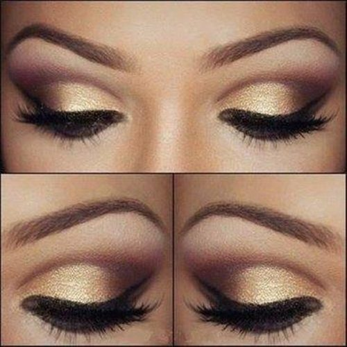 false eyelashes for smokey eyes
