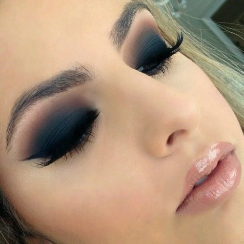 delineated for smokey eyes