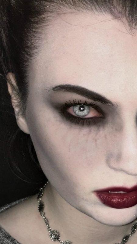 Maquillaje de VAMPIRO: 20 diseños escalofriantes!