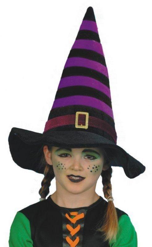 Maquillaje de brujas para niñas