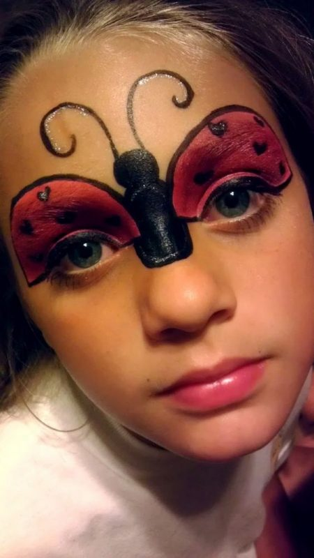 maquillaje infantil 20 dise os espectaculares para ni os mis maquillajes. Black Bedroom Furniture Sets. Home Design Ideas