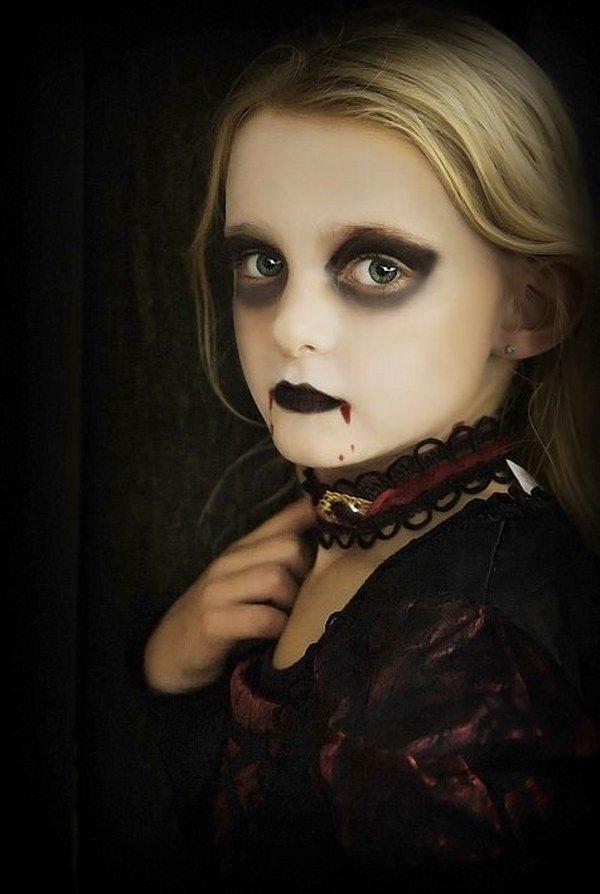 Maquillaje Infantil 20 Disenos Espectaculares Para Ninos Mis - Maquillaje-bruja-para-nia
