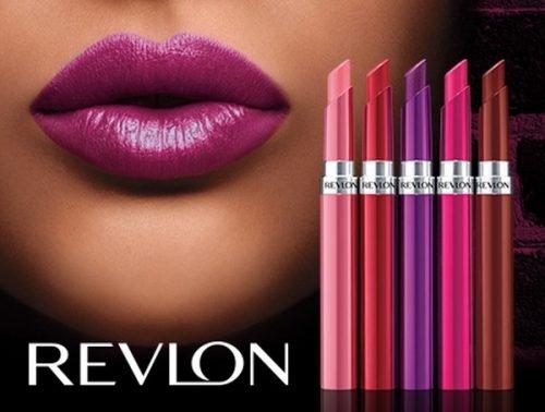 Labiales de los Maquillajes Revlon