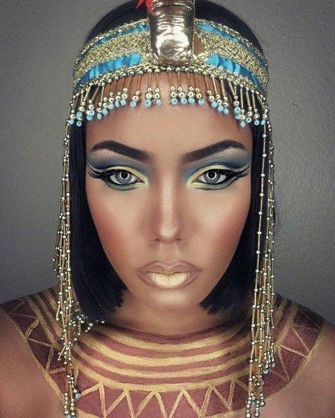 Maquillaje de Cleopatra  Sexy