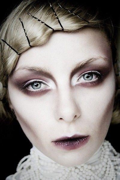 Maquillaje de Dracula Renacentista