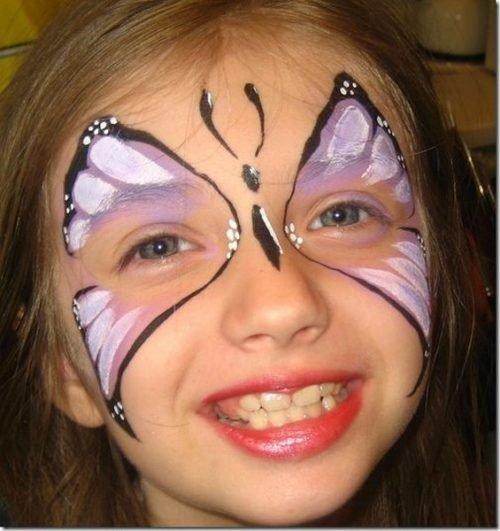 Maquillaje de Mariposa Rápido y fácil