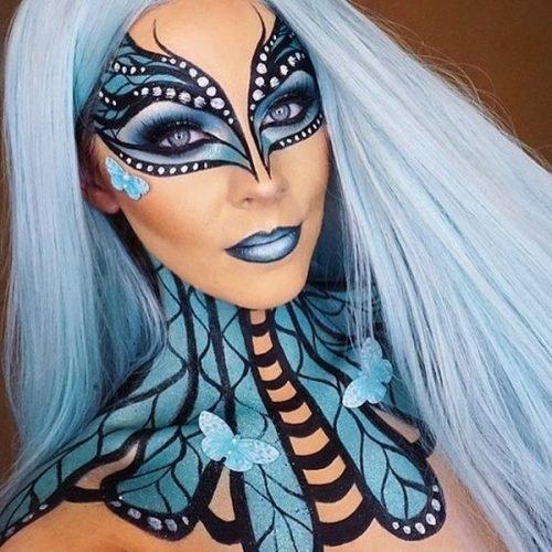 Maquillaje de Mariposa Fantasía