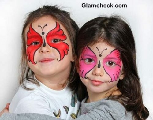 Maquillaje de Mariposa Adorable