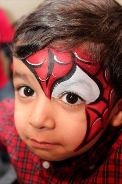 Maquillaje de Spiderman Divertido