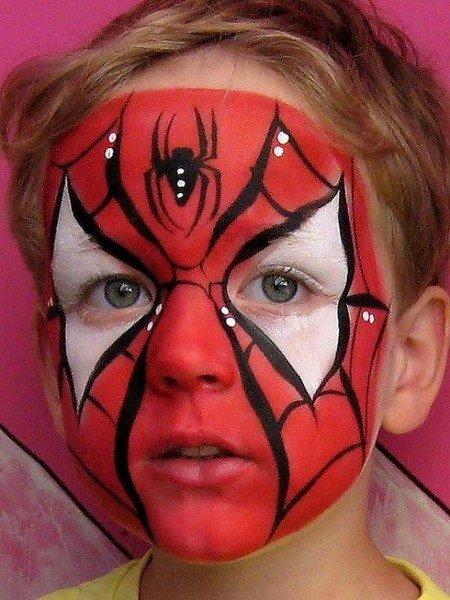 Maquillaje de Spiderman Elaborado