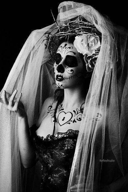 Calavera MEXICANA maquillaje poética
