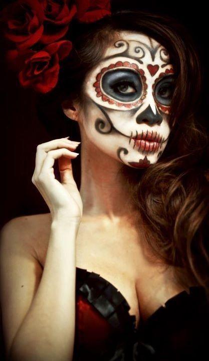 Calavera MEXICANA maquillaje sexy