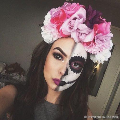 Maquillaje CATRINA: 14 Ideas Geniales Para Lucir