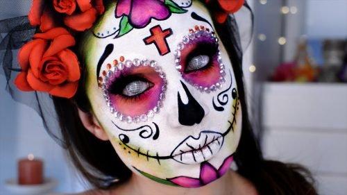 Maquillaje CATRINA terrorífico