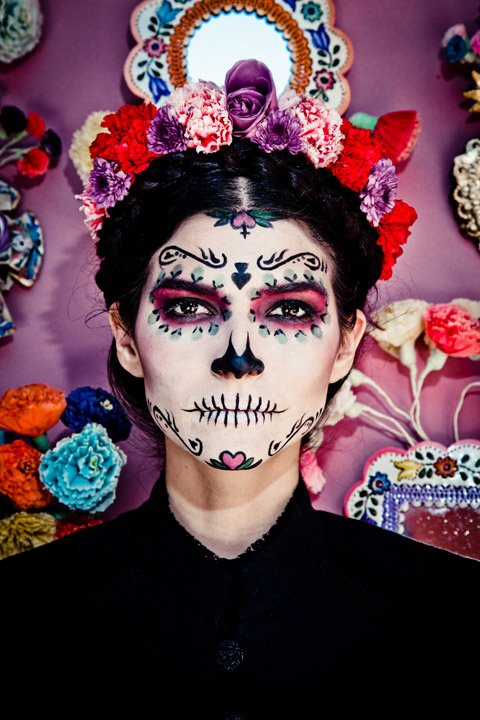 Maquillaje CATRINA tradicional