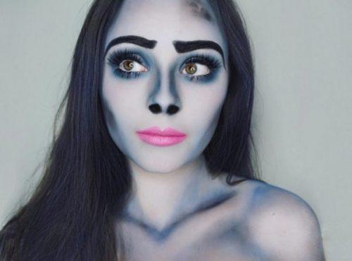 Maquillaje novia CADÁVER sencillo