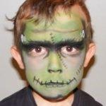 Maquillajes HALLOWEEN niños Frankenstein