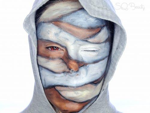 Maquillajes HALLOWEEN niños momia