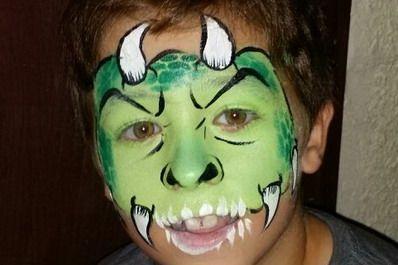 Maquillajes HALLOWEEN niños monstruo