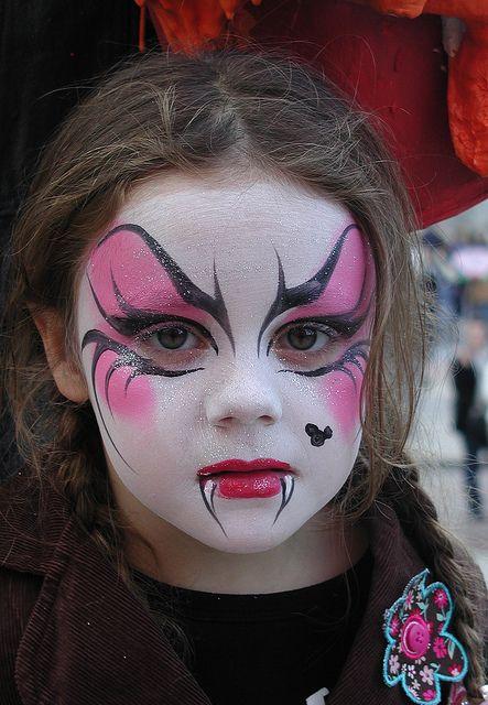Maquillajes HALLOWEEN niños vampira