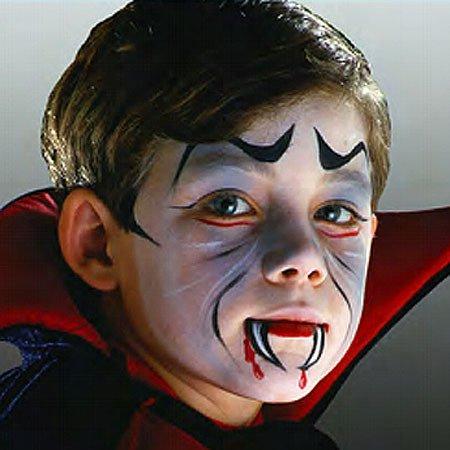 Maquillajes HALLOWEEN niños vampiro