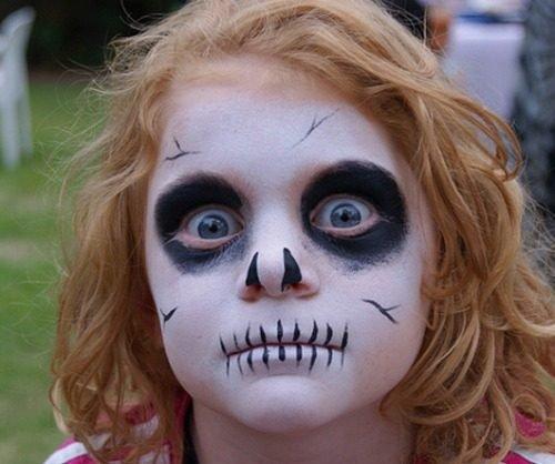 Maquillajes HALLOWEEN niños zombie