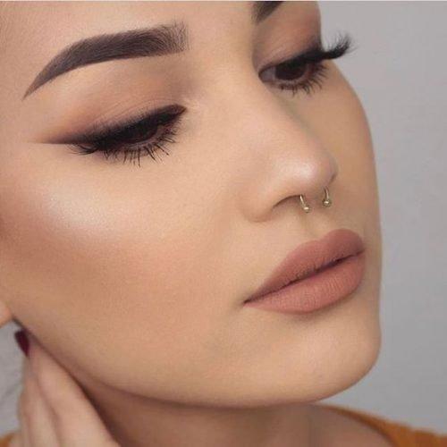 Maquillajes para el día labios mate