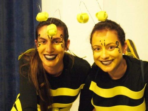 Maquillaje de abeja tierno