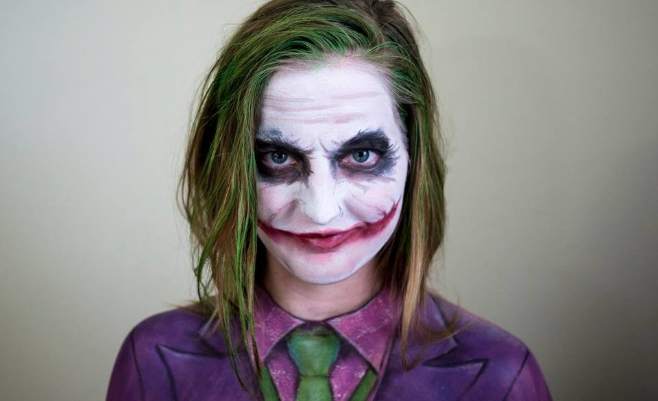 Maquillaje JOKER 2